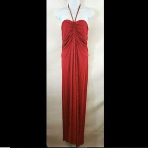 Venus Red Summer Maxi Dress